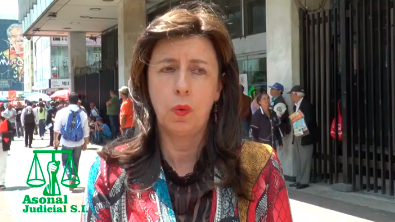 ASONAL JUDICIAL S.I exige la renuncia del fiscal Nestor Humberto Martínez