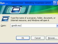 mematikan autorun pada windows