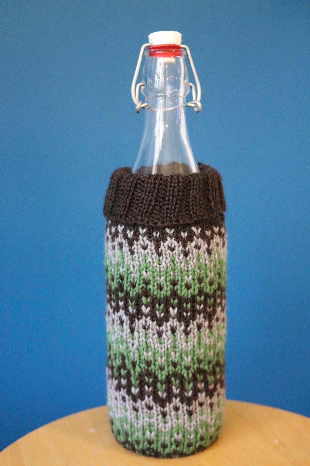 ChemKnits: Ombré Wine Cozy Knitting Pattern