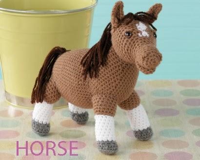 Free Crochet Pattern Farm Animals : Farm Animals ~ Book Review ~ Crochet Addict UK