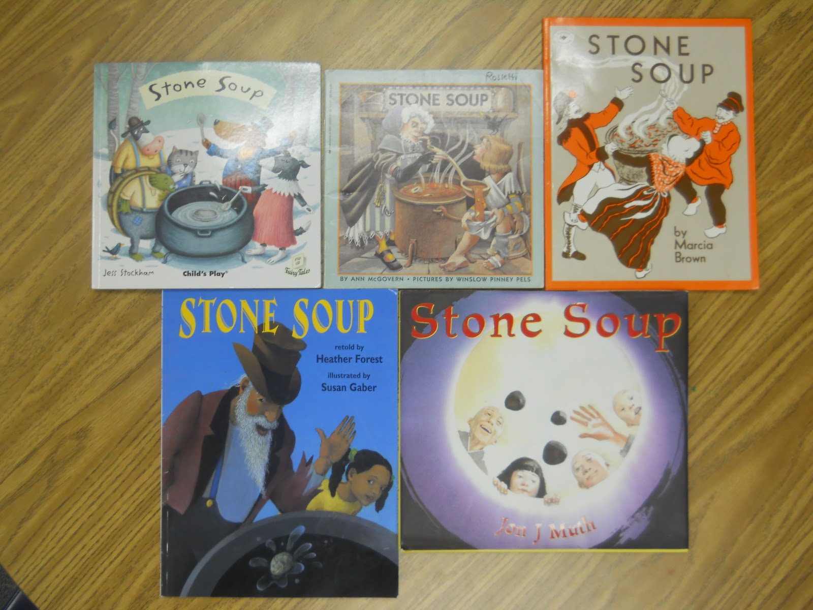 stone soup Stone soup, a portuguese fable a kindly, old stranger was walking through the  land when he came upon a village as he entered, the villagers moved towards.