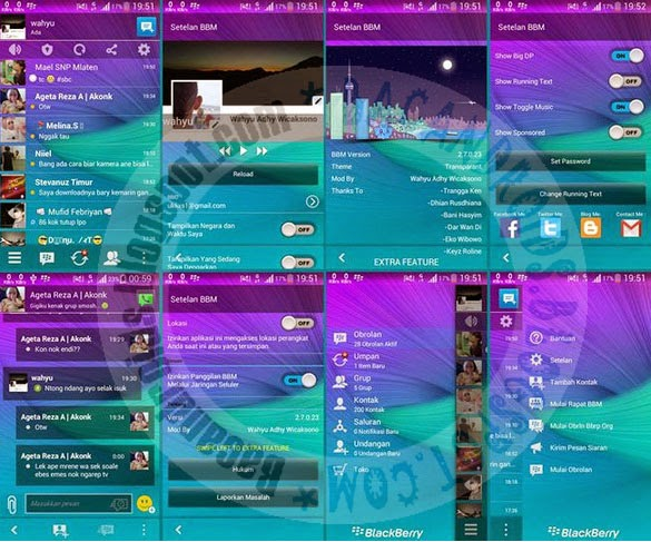 download BBM Transparant  2.7.0.23 new Fitur