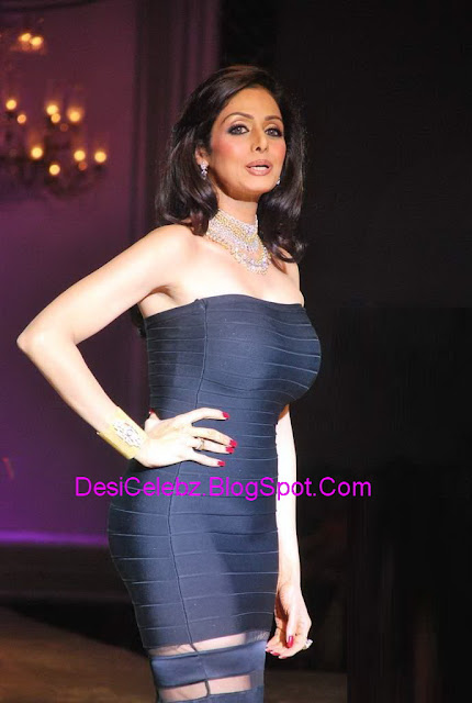 Hot Sridevi big boobs in tight outfit