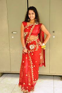 Actress Jayanthi  Saree Stills 014