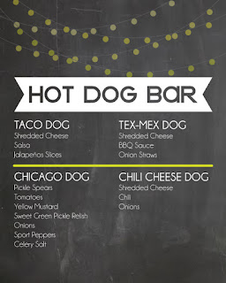 What Os On A Hot Dog Bar