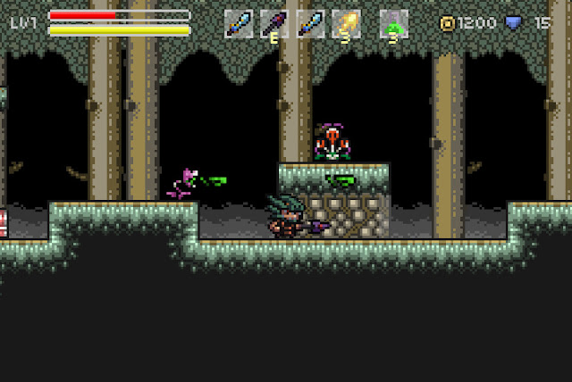 Evil Hazard son plataformas pixeladas de vieja escuela en las que probar tu habilidad