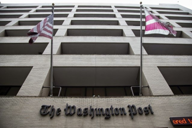 The Washington Post building  (Credit: AP) Click to enlarge.
