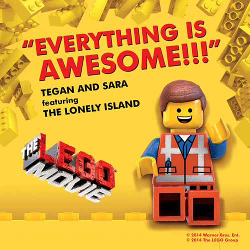 the lego movie soundtracks-tegan and sara-everything is awasome