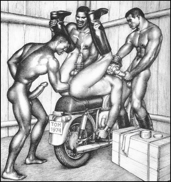 Tom finland fisting