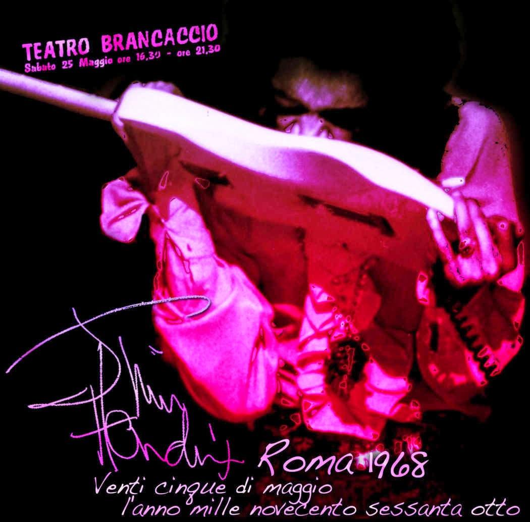 Jimi Hendrix Teatro Brancaccio. Rome, Italy - May 25, 1968 - bootleg