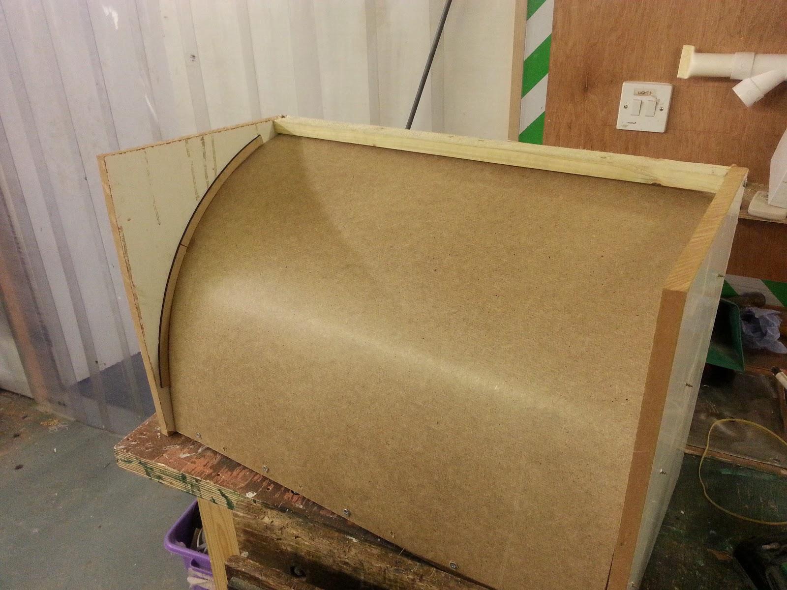 Nerd Club Making A Curved Acrylic Fingerboard