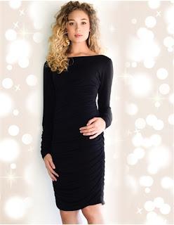 womens tall little black dress