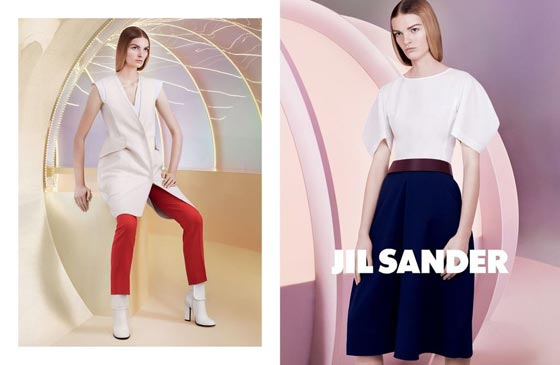 Jil Sander spring summer 2013 ad campaign