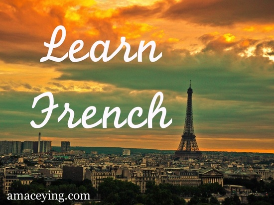 Learn French + Manifest Your Studies or Tuition | www.elisemcdowell.com