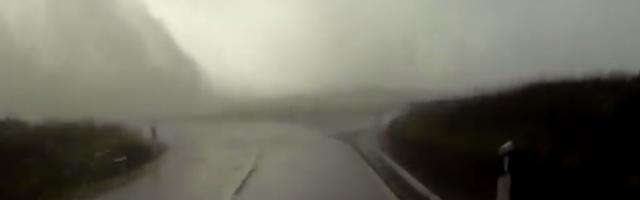 Tempestade nos Açores - Corvo e Flores Nunca Viram Nada Assim