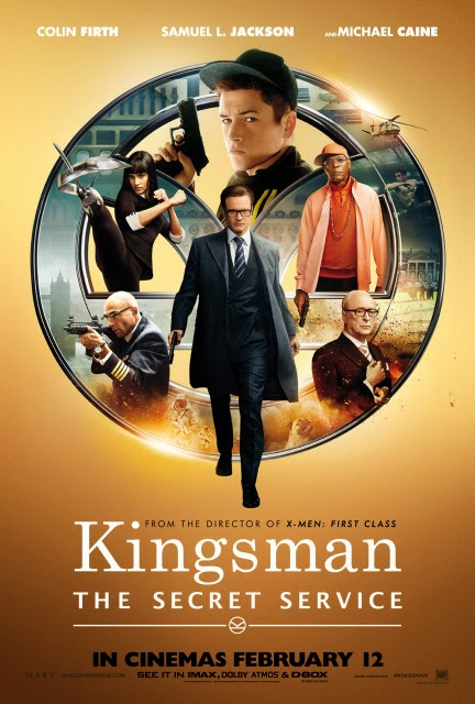 Movie Kingsman The Secret Service Cute  Bubble Sticker Tags Animation
