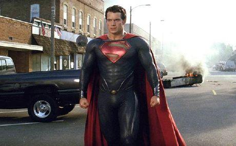 Man of Steel - EW Photos
