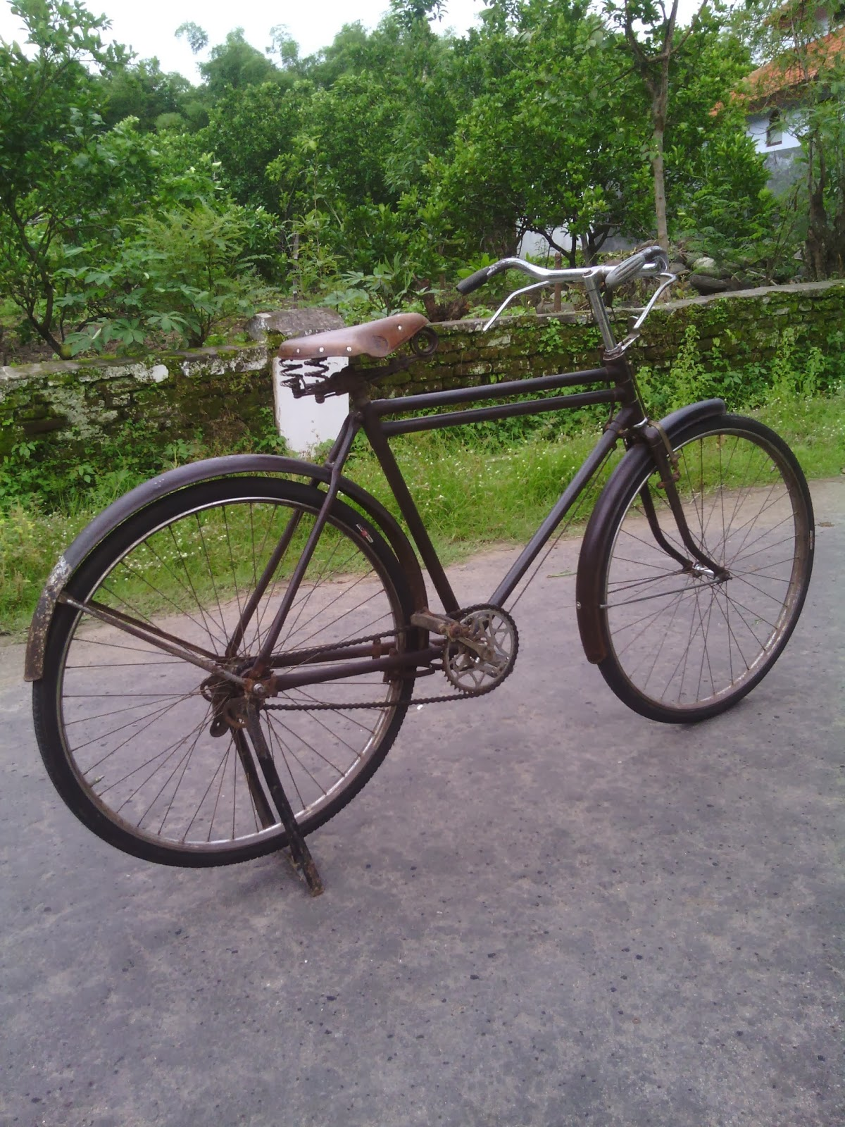 Sepeda Onthel: sepeda onthel double palang antik