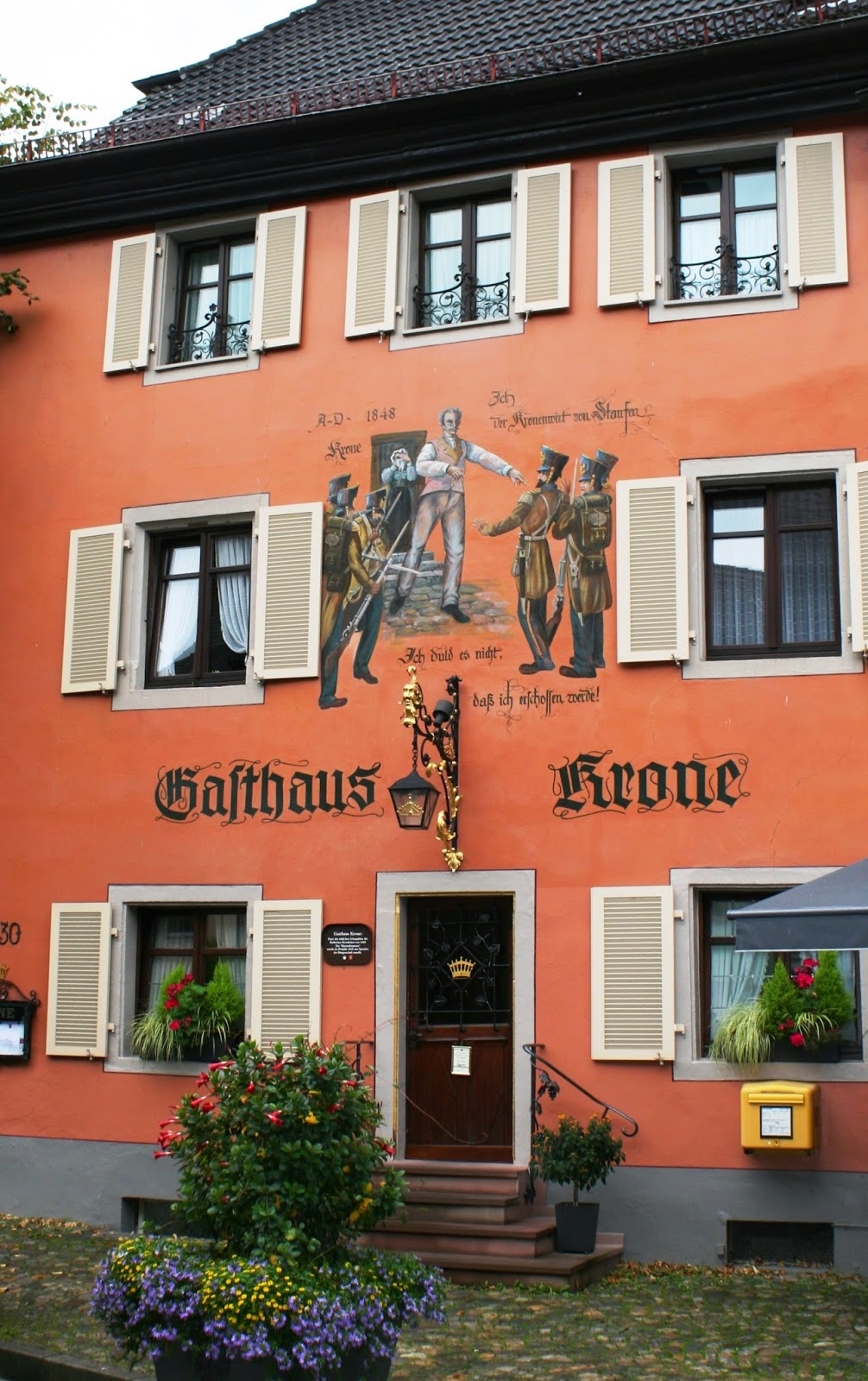 Hotel Krone Staufen Germany Lace Up and Walk