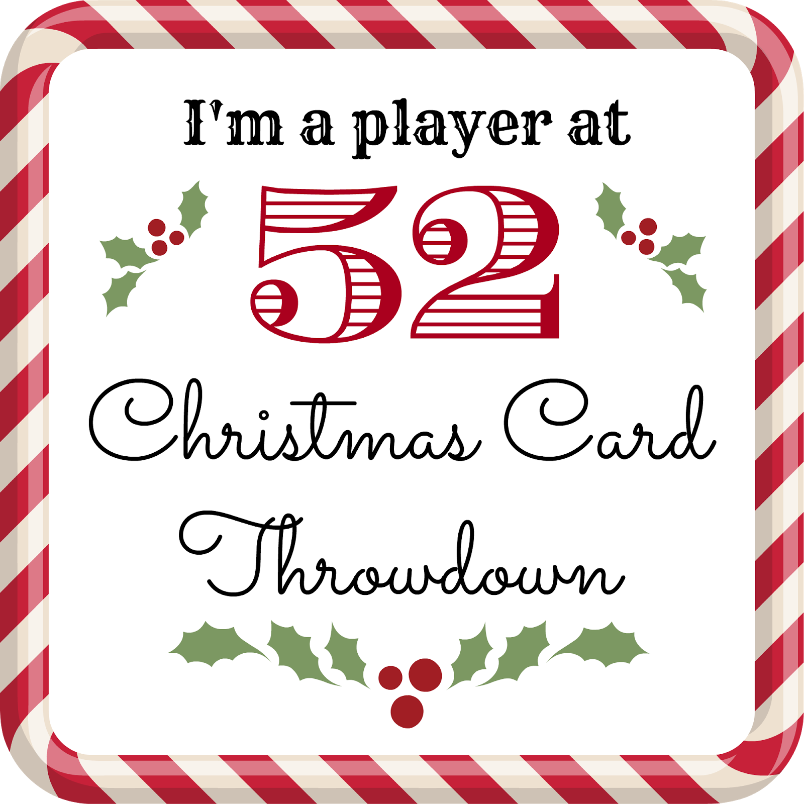 52 Charistmas Card Throwdown
