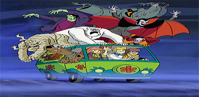 Scooby Doo Halloween splash screen