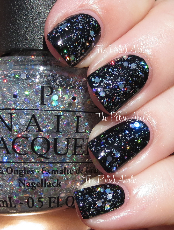 The PolishAholic: OPI Spotlight on Glitter Collection Swatches