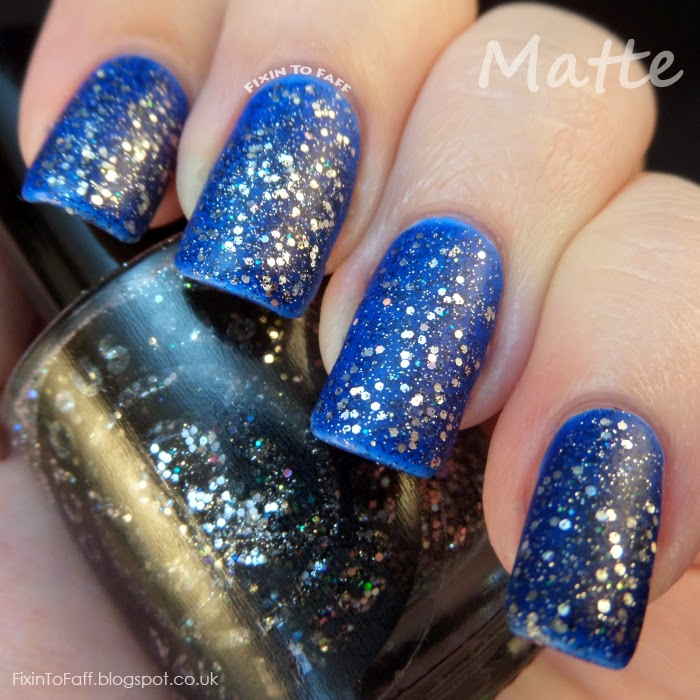 Octopus Party Nail Lacquer Star Tar swatch matte
