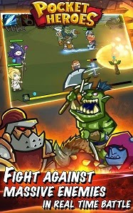 POCKET HEROES 1.2.2 MOD APK (UNLIMITED MONEY)