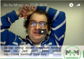 Video News Update Berita Mingguan MMM Mavrodian Indonesia Tanggal 20 September 2015