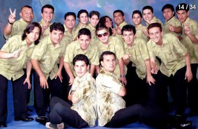 Hermanos Silva posando en sesión de foto