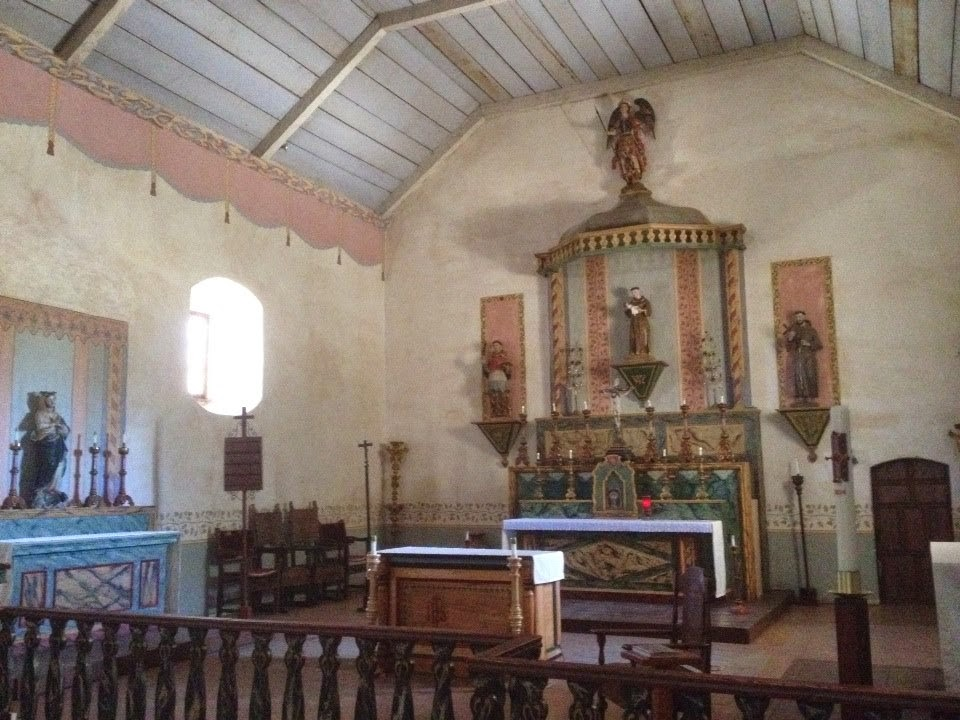 California Mission Altar