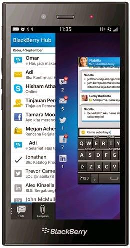 Blackberry Z3 LTE Akan Usung Spesifikasi Tangguh