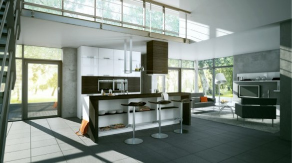 2012 kitchen design inspirations kitchen island for Kitchen decor inspiration