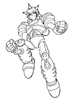 Astro Boy Enemy Printable Kids Coloring Pages