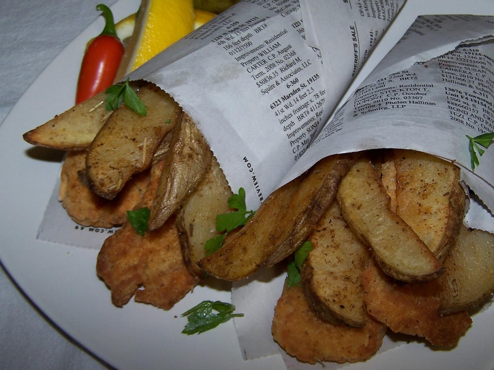 Ez gluten free oven baked fish and chips for Baked fish and chips