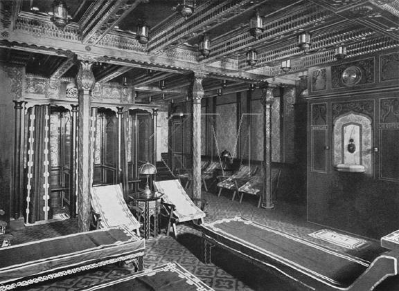 mavi boncuk titanic 39 s turkish baths. Black Bedroom Furniture Sets. Home Design Ideas