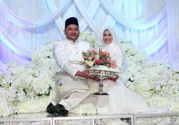 Gambar sekitar pernikahan Mila Jirin dan Ahmad Ailis