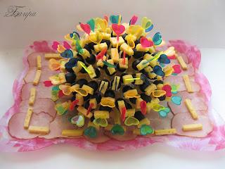 Ну і звісно тортик від нашої бабусі