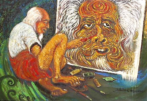 Affandi, The Legend of Indonesian Expresionist Painter ...
