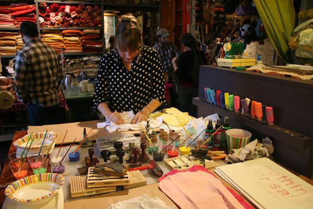 Crafting at Elsewhere