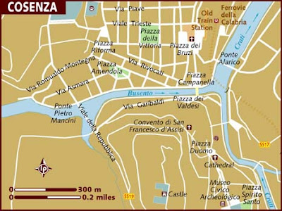 Mappa Politica di Cosenza