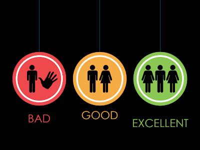 three way is excellent