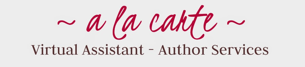 A La Carte ~ Virtual Assistant - Author Services