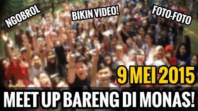 Meet Up Bareng di Monas
