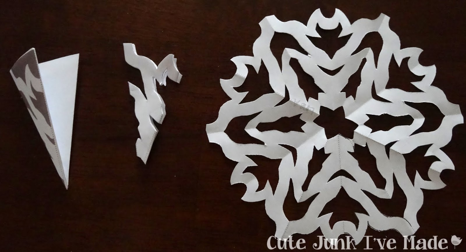 Snowflake Cutting Template Snowflake curtain + free