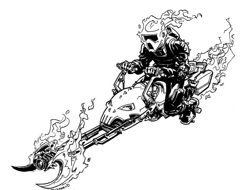 Whiskey Mech Speeder Bike Ghost