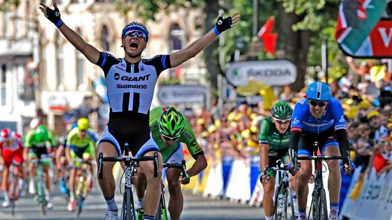 Marcel Kittel primer líder del Tour