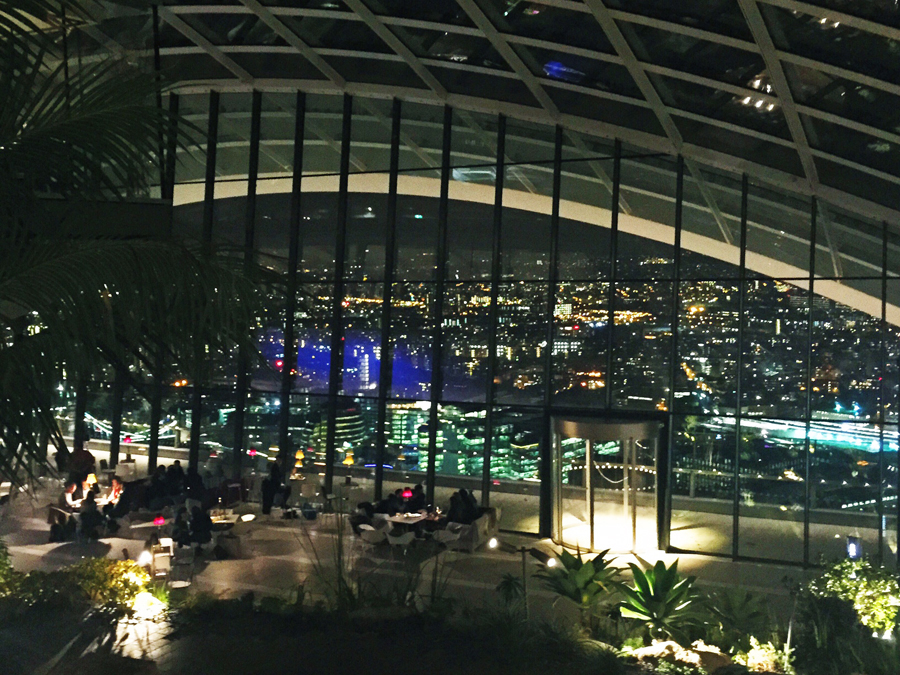 Sky Garden London Fenchurch Seafood Bar & Grill