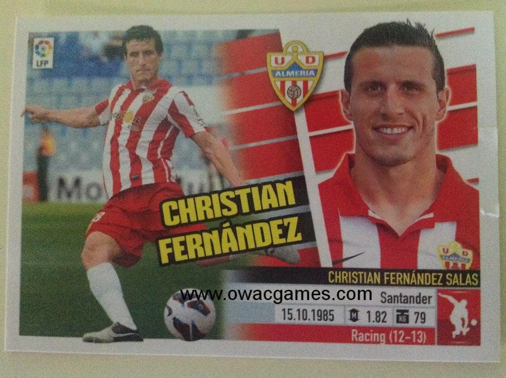 Liga ESTE 2013-14 Almeria 7A - Christian Fernández