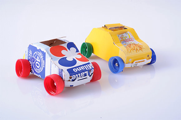 Cute and fun recycle craft ideas for kids easy arts and for Interesting recycling ideas